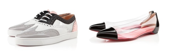 Zapatos planos de la última colección de C.Louboutin.(www.christianlouboutin.com)