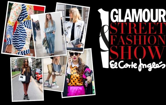Concurso Glamour & fashion Street Show, El Corte Inglés. (www.elcorteingles.glamour.es).
