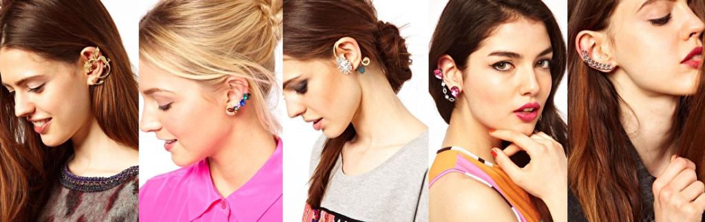 modelos de ear cuff