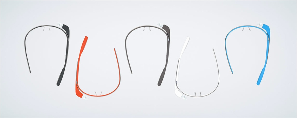 Diferentes modelos de Google Glass (www.google.com/glass).