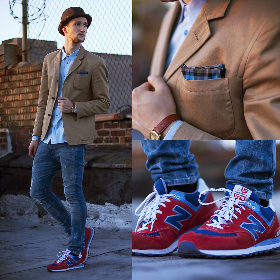 Estilismo con New Balance (www.lookbook.nu).