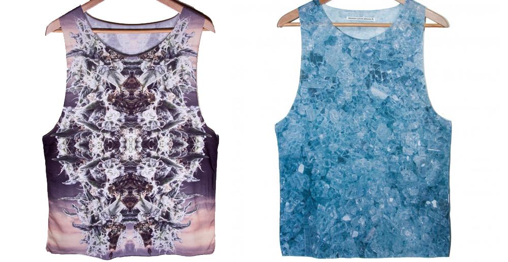 Camisetas con estampados más discretos (www.smoooothclothing.com).