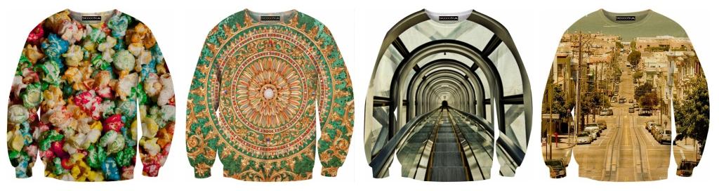 Diferentes modelos de jumpers (www.smoooothclothing.com).