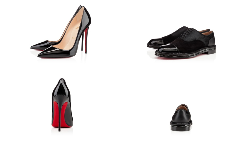 El famoso zapato Louboutin diseño femenino y masculino. Otoño/Invierno 2013-14. (www.christianlouboutin.com).