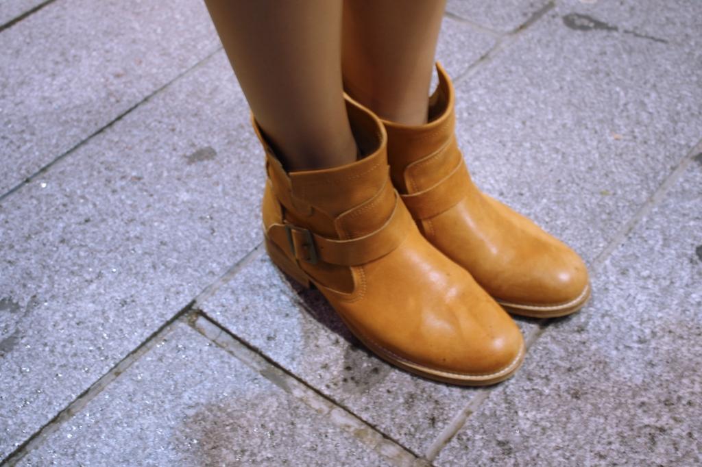 Botines camel de Vas. www.tecomplementa.com