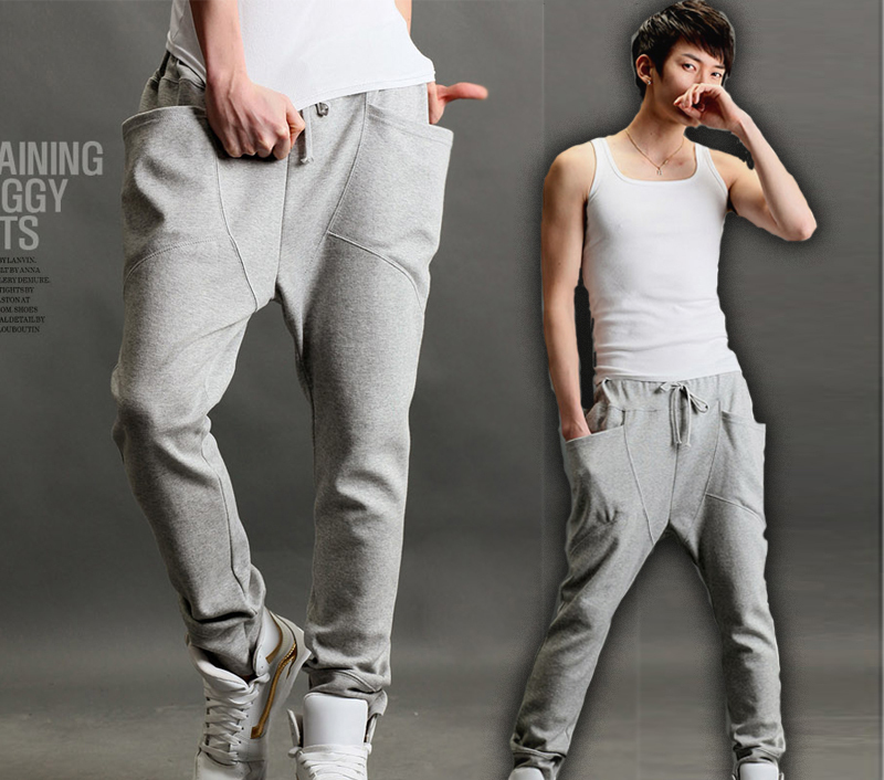 Men-s-New-Fashion-Stylish-Casual-Harem-Sport-Training-Pants-Trousers-Shorts-Free-shipping