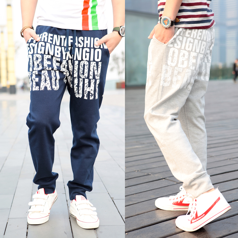 New-2013-summer-fashion-font-b-mens-b-font-print-font-b-harem-b-font-hip