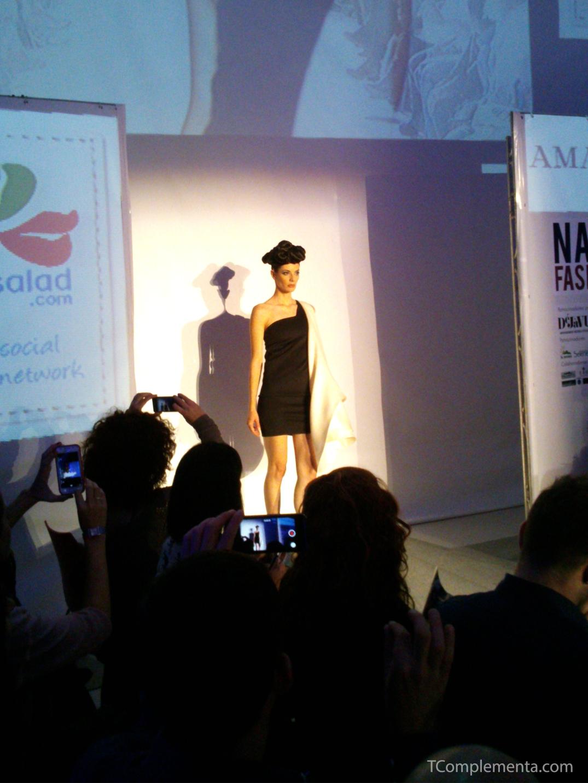 Diseño de Amaya Arzuaga para Navarra Fashion Week 2013. (Fotgrafía Ismael Pérez Arana - TComplementa.com).
