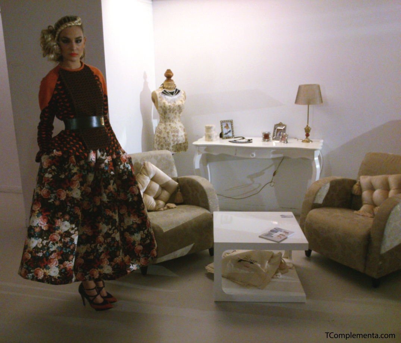 Diseño de Ana Looking para Navarra Fashion Week 2013. (Fotgrafía Ismael Pérez Arana - TComplementa.com).