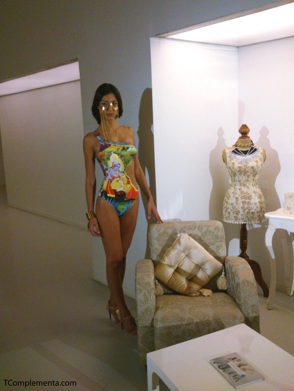 Diseño de Dolores Cortés para Navarra Fashion Week 2013. (Fotgrafía Ismael Pérez Arana - TComplementa.com).