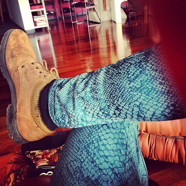 Meggins de Instagram, @jaisun143.