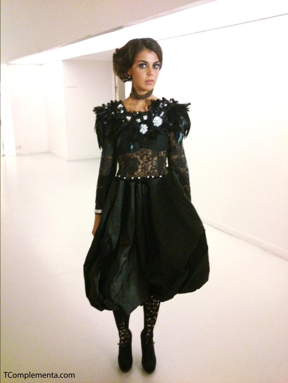 Diseño de Manuel & Ariana para Navarra Fashion Week 2013. (Fotgrafía Ismael Pérez Arana - TComplementa.com).