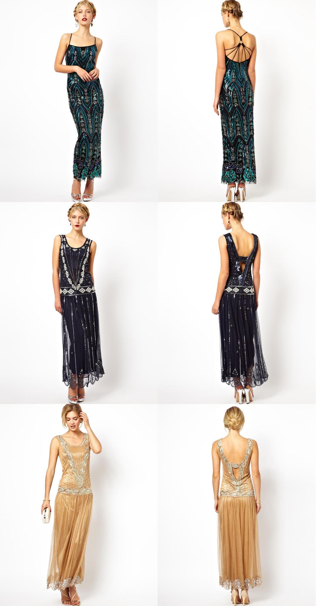 Vestidos largos de Frock and Frill. (www.frockandfrill.com)