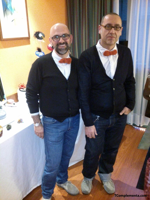 Juanjo Larriba y Anastasio Calvo, diseñadores de Bahban - Fotografía de Ismael Pérez Arana.