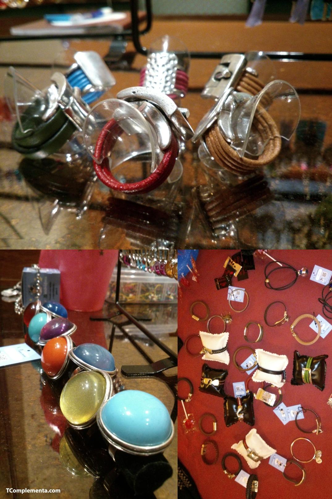 Joyas de la diseñadora Carmen Sanz: Anillos, pulseras, collares, etc. - Fotografía de Ismael Pérez Arana.