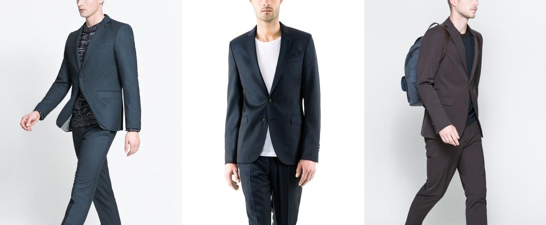 Formas de combinar un traje entero sustituyendo la camisa - Fotografía de Zara.com