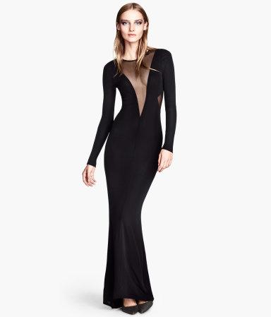 Vestido negro de nochevieja