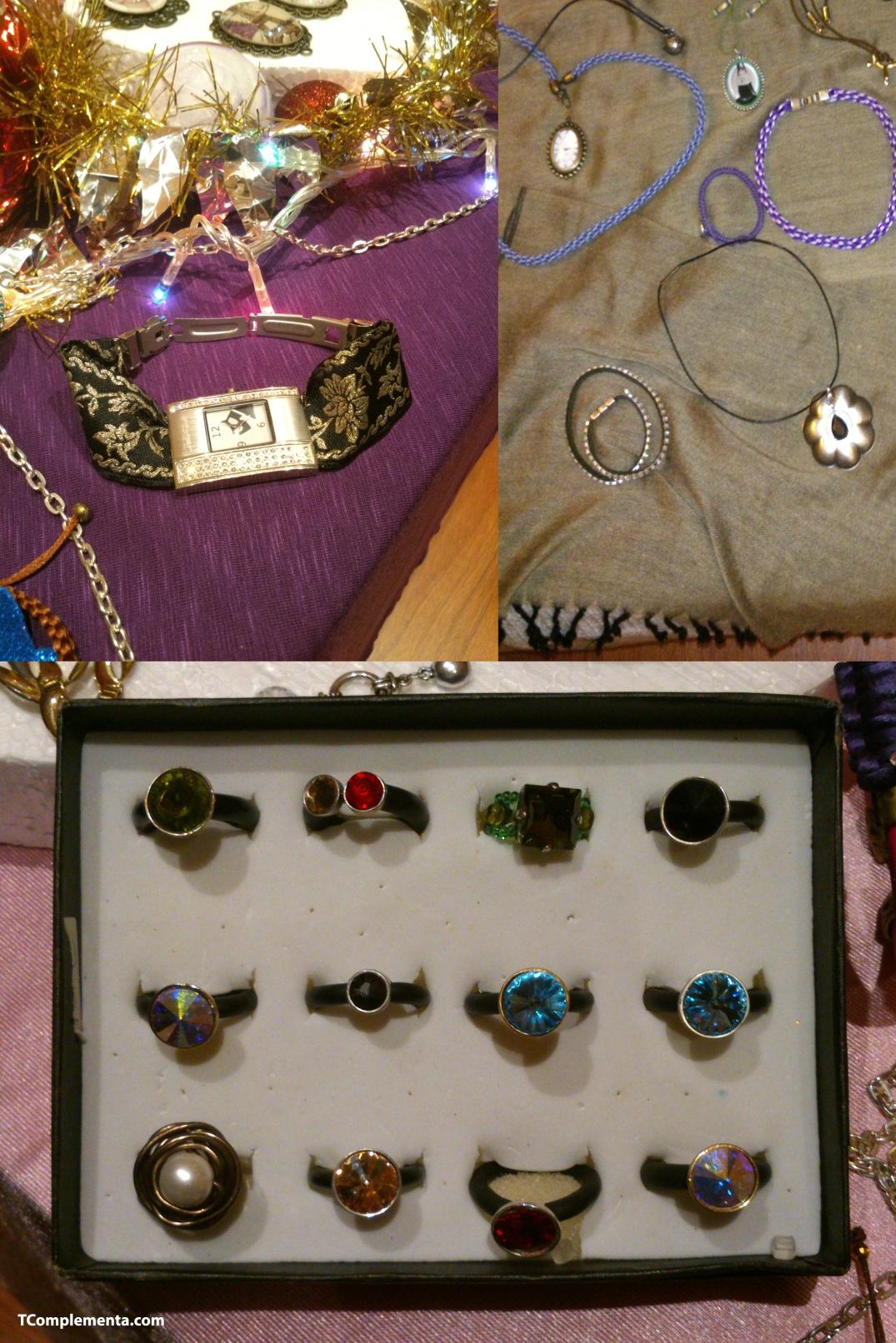 Diseños de Petruska Alri: relojes, pulseras, medallones, etc. - Fotografía de Ismael Pérez Arana.