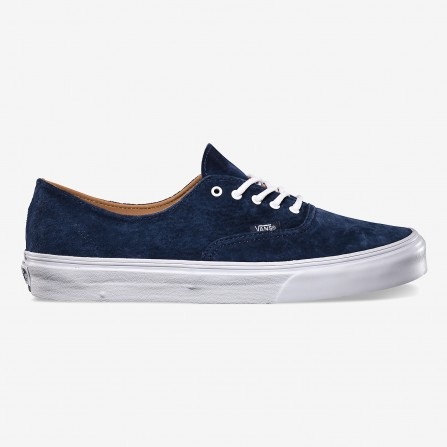 Authentic decon ca shoes terciopelo azul