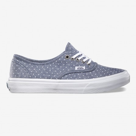Authentic slim shoes topos blancos