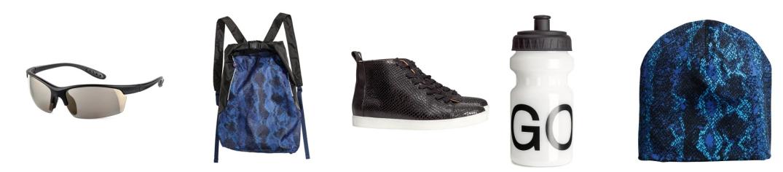 complementos de la colección Go Gold de H&M que puedes combinar con las prendas