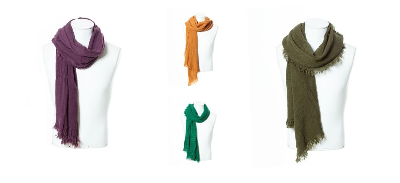 Fulares de la Sección Hombre de Zara en los colores Must Have