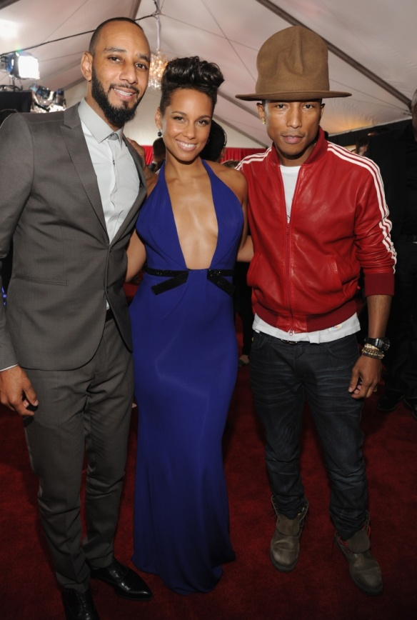 Swizz beatz alicia keys pharrell williams