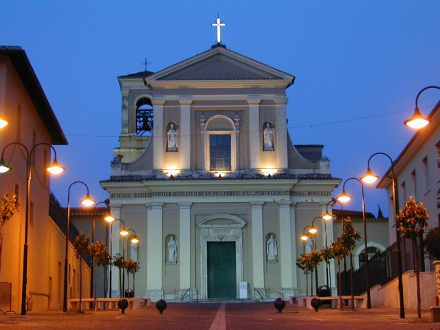 Basílica de San Valentín donde se encuantra su tumba. Terni (Italia).