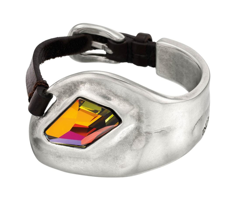 Pulsera Insomnio de UNOde50 con cristal multicolor de Swarovski.