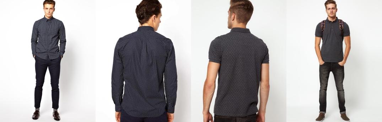 Camisa de Peter Werth (Izq.) y Polo de Asos (Drch.)