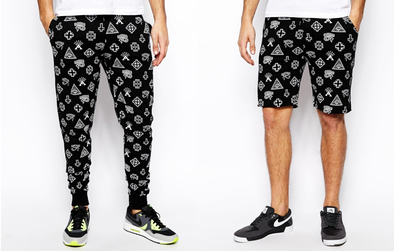 Pantalones estampados de Asos