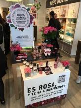 Presentación del producto de la linea British Rose.