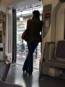 Madrid - Cercanías C3 - Pantalones campana!!! Que vuelvan ya!